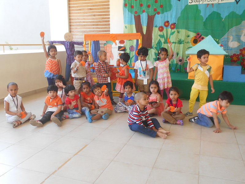 TIME TO CELEBRATE LEARNING- ORANGE COLOUR DAY
