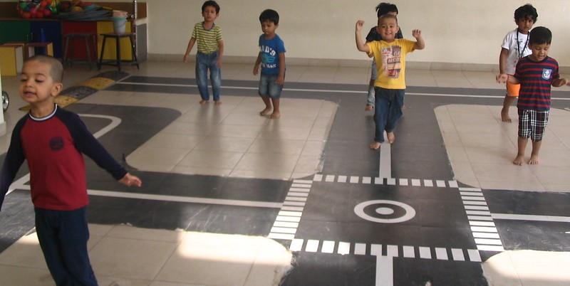 DEVELOPING PHYSICAL AND GROSS MOTOR SKILLS- P E T CLASS