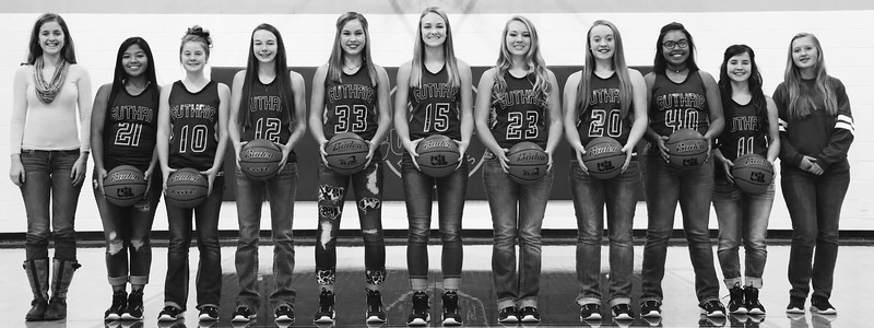 Lady Jag Basketball Team