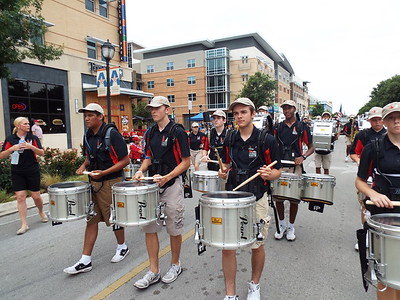 Parade Camp and Parade 2016-2017