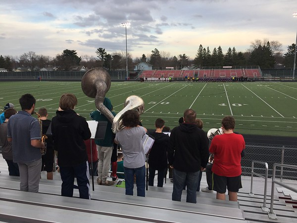 Pep Band Womens soccer game