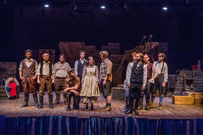 Peter and the Starcatcher dress rehearsal