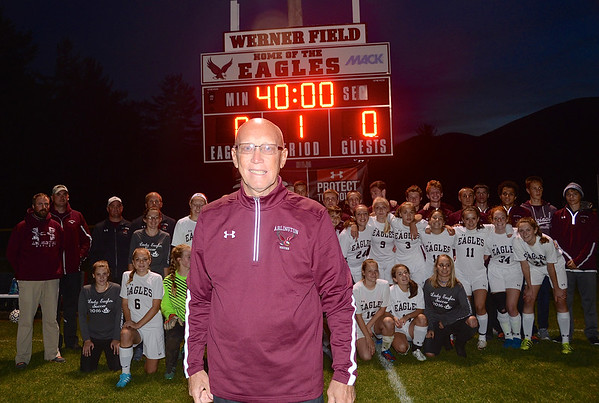Special Field…Special Coach…Arlington Honors John Werner photos by Gary Baker