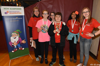 3rd Place, Project EXTRA, Laconia Middle SchoolThe ElementsLaconiaShow & Tech, Technical Challenge