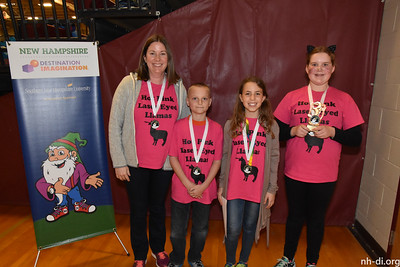 3rd Place, Lakeway Elementary SchoolHot Pink Laser Eyed LlamasLittletonReady, Willing & Fable