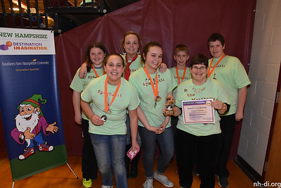 2nd Place, Gilmanton SchoolSpaghetti and the MeatballsGilmantonShow & Tech, Technical Challenge