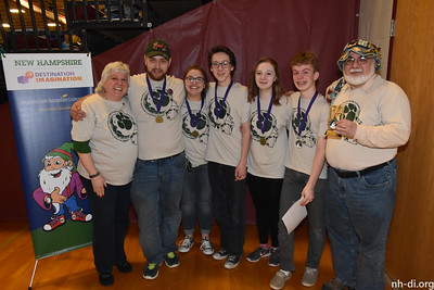 First place, Monadnock Regional Middle High SchoolSwanzey3-Peat, Improvisational Challenge