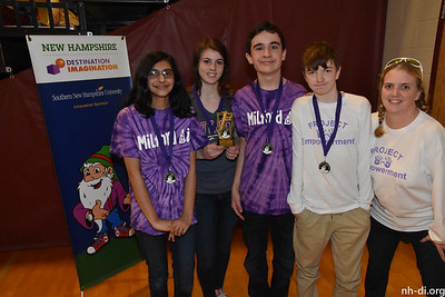 1st Place, Milford DIMilford Middle School DIMilfordReady, Willing & Fable, Service Learning Challenge
