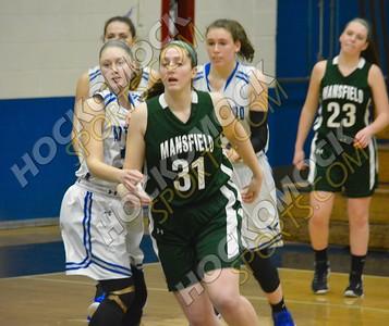 Attleboro - Mansfield Girls Basketball 1-10-16