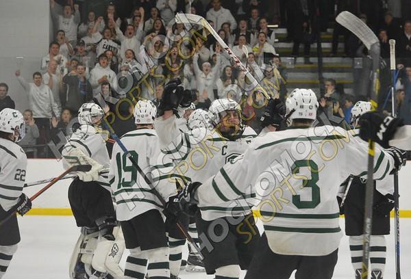 Canton - Pembroke Hockey (MIAA Playoffs) 3-1-17