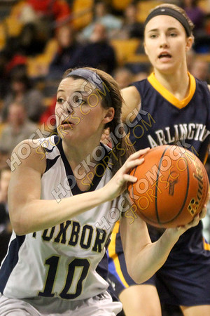Foxboro-Arlington Catholic Girls Basketball - 03-13-17