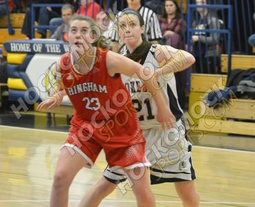 Foxboro - Hingham Girls Basketball 3-4-17
