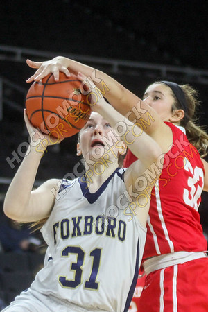 Foxboro-Milford Girls Basketball - 01-29-17