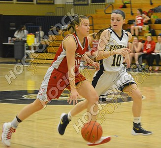 Foxboro - North Attleboro Girls Basketball 2-17-17