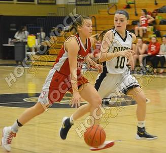 Foxboro - North Attleboro Girls Basketball 2-17-17