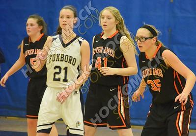 Foxboro - Oliver Ames Girls Basketball 1-26-17