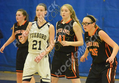 Foxboro - Oliver Ames Girls Basketball 1-26-17