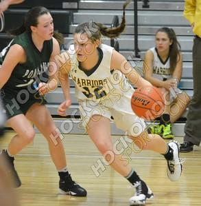 King Philip - Ponaganset (RI) Girls Basketball 12-29-16