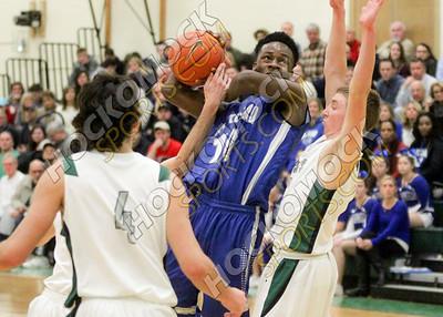 Mansfield - Attleboro Boys Basketball - 01-10-17