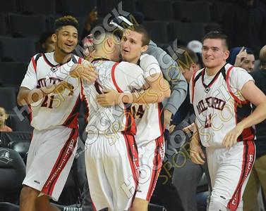 Milford - North Attleboro Boys Basketball 1-29-17