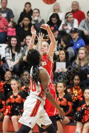 Milford-Stoughton Girls Basketball - 01-06-17