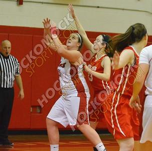 North Attleboro - Milford Girls Basketball 1-17-17