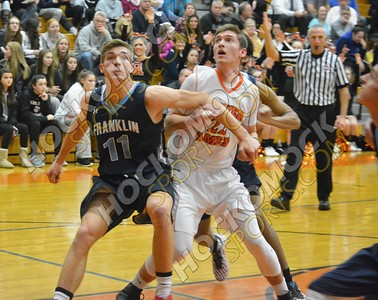 Oliver Ames - Franklin Boys Basketball 2-3-17