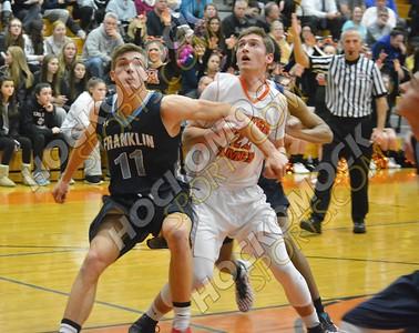 Oliver Ames - Franklin Boys Basketball 2-3-17