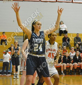 Oliver Ames - Franklin Girls Basketball 2-3-17