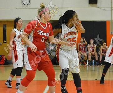 Stoughton - North Attleboro Girls Basketball 1-13-17