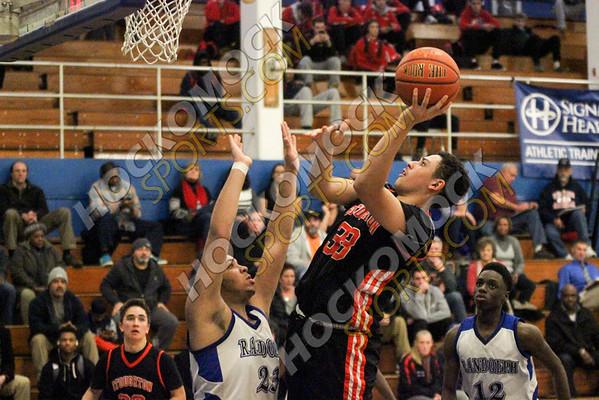 Stoughton - Randolph Boys Basketball - 12-30-16