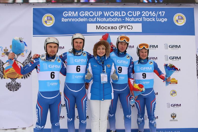 Natalia Gart with Egorov/Popov & Porshnev/Lazarev