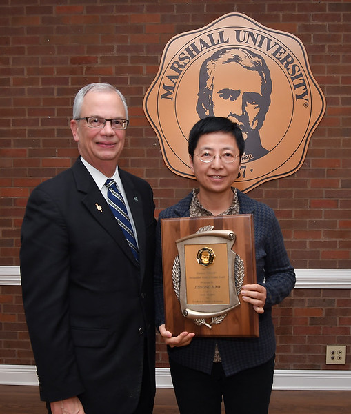 Dr. Jinsong Hao<br /> 2016-17 MU DASA Award - Senior Recipient for Sciences & Technology
