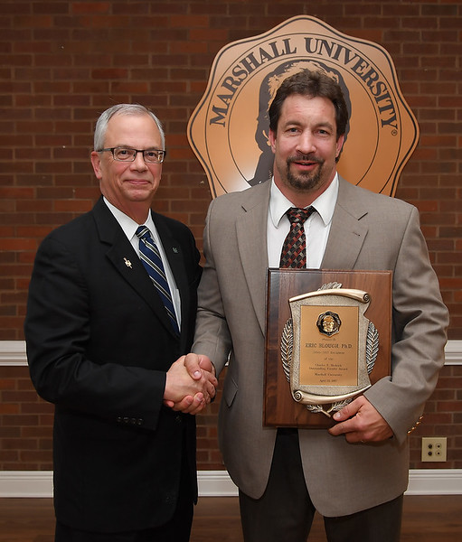 Dr. Eric Blough<br /> 2016-17 Hedrick Outstanding Faculty Award