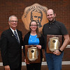 Dr. Elizabeth Niese, Dr. Michael Schroeder & Dr. Carl Mummert (not pictured)<br /> 2016-17 MU DASA Award - Recipients of the Team Award