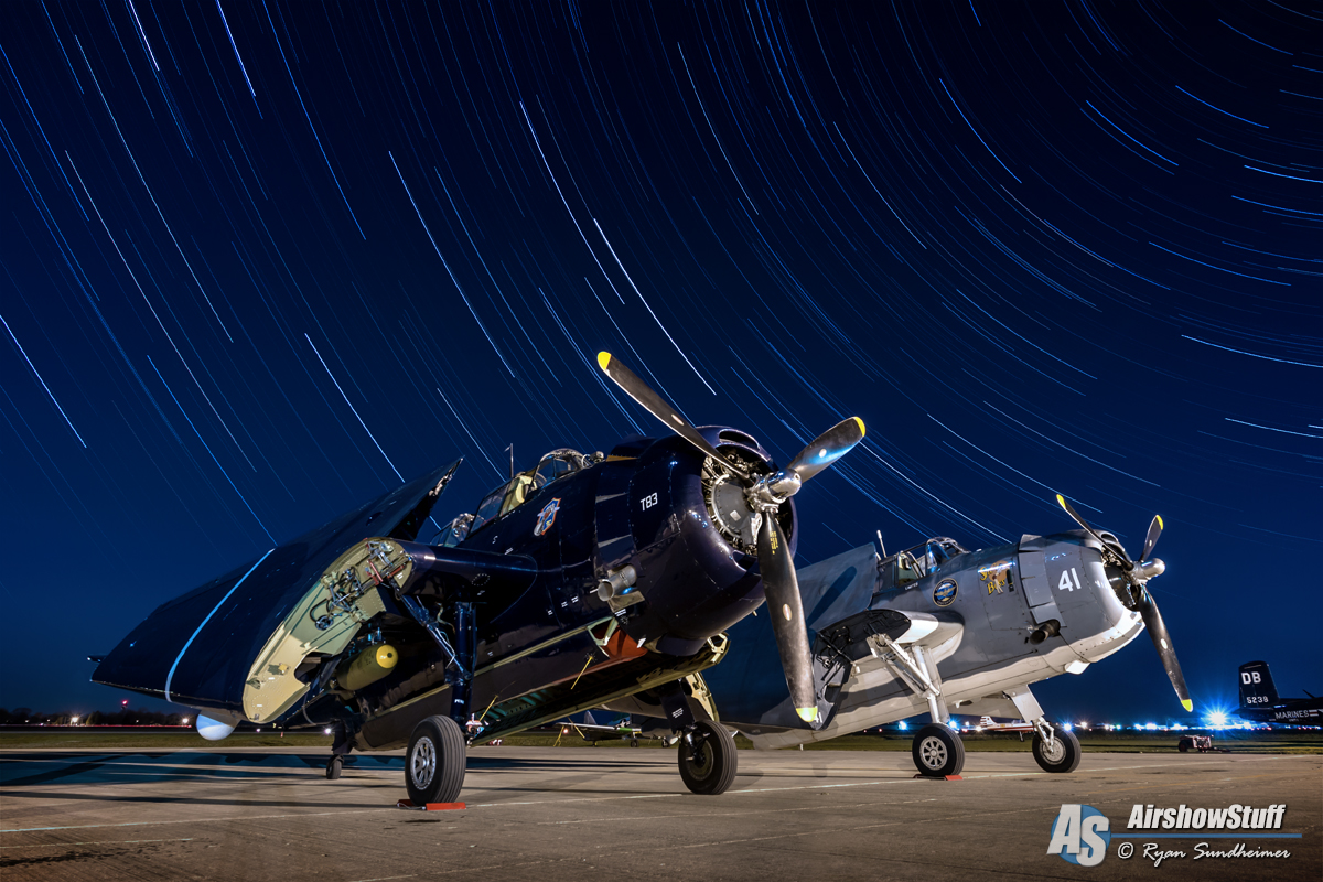 TBM Avenger Star Trail
