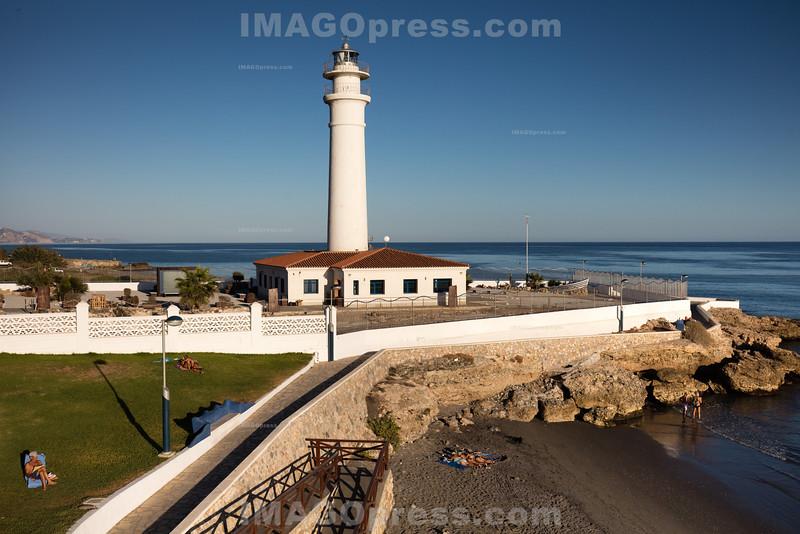 Faro de Torrox in Torrox - Costa © Patrick Lüthy/IMAGOpress.com