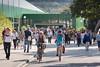 Teilnehmende verlassen am Lehrertag 2016 die Stadthalle in Olten © Patrick Lüthy/IMAGOpress.com