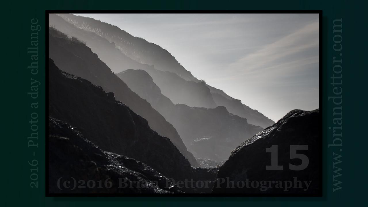 Day #15 - Muir Beach Cliffs