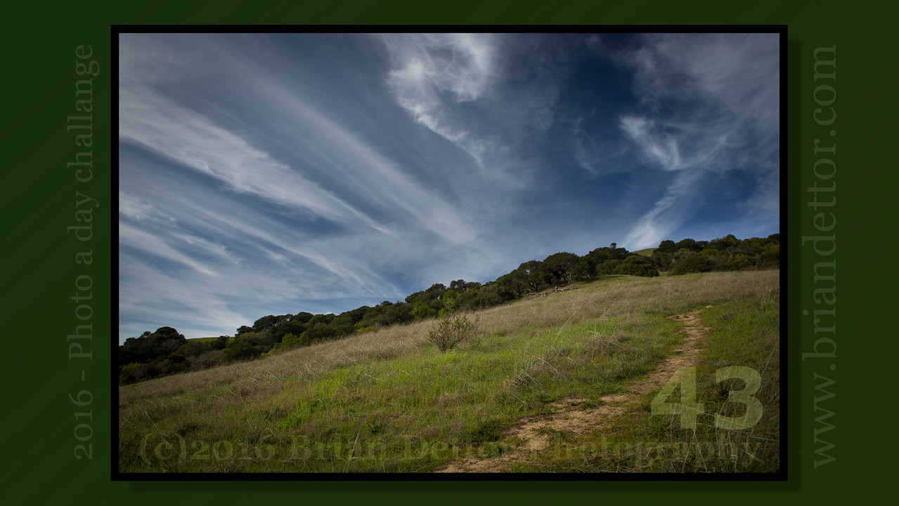 Day #43 - Lucas Valley Hills