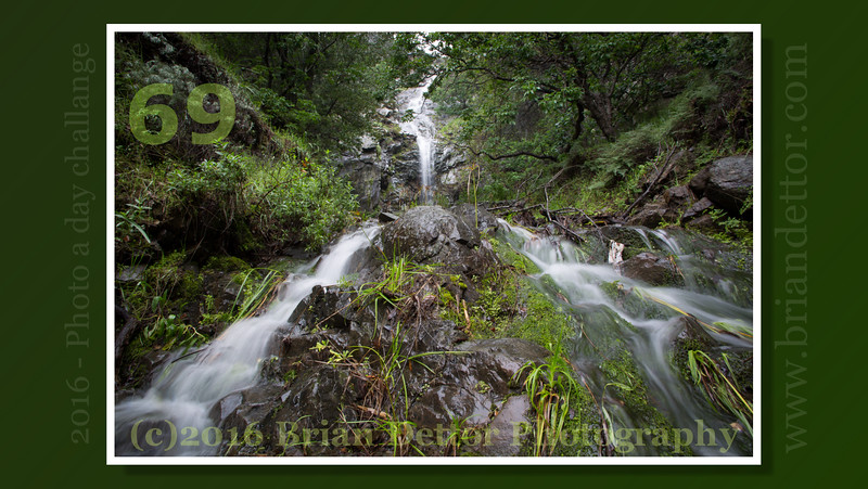 Day #69 - Mountain View Falls