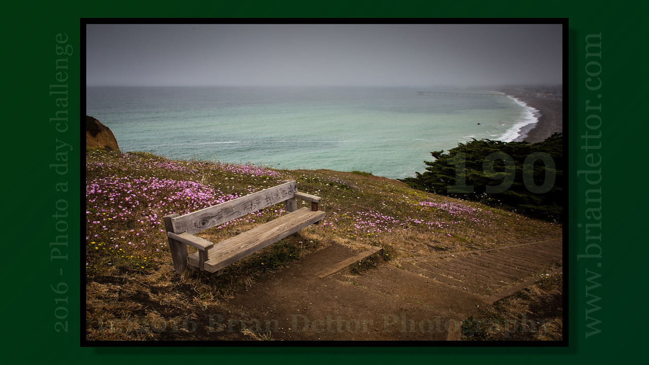Day #190 - Mori Point and the Pacific