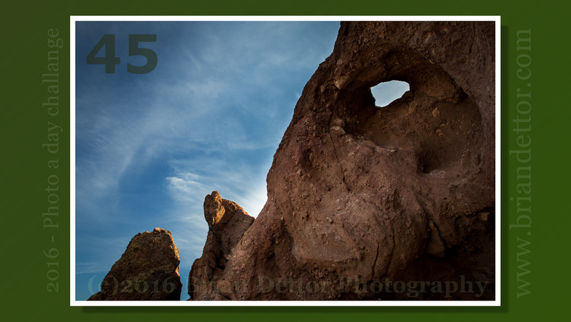 Day #45 - Hole in the Rock