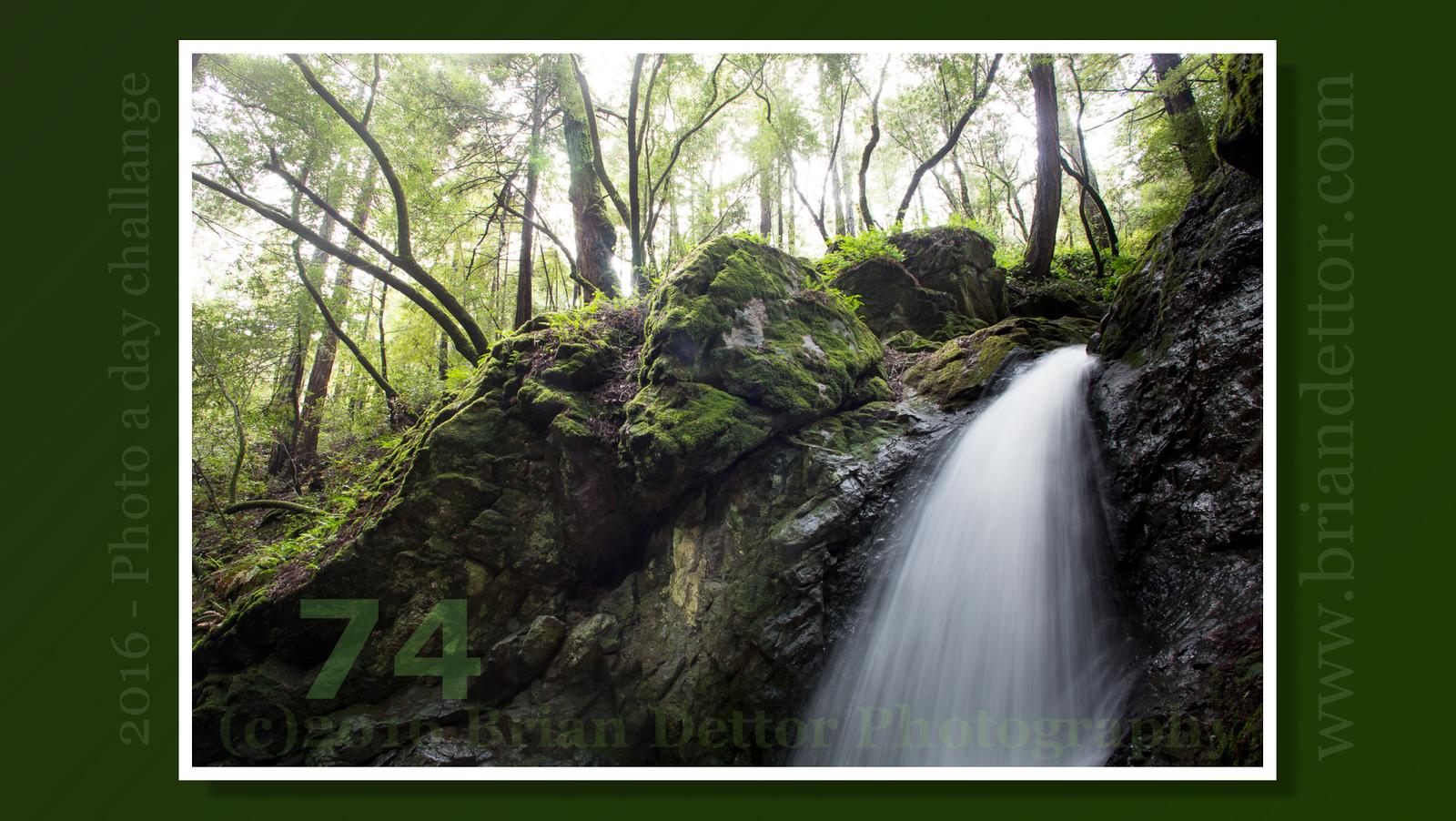 Day #74 - Cascade Falls #2