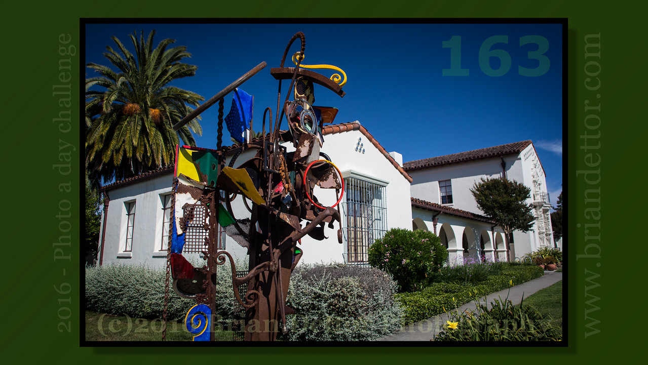 Day #163 - Marin Museum of Contemporary Art