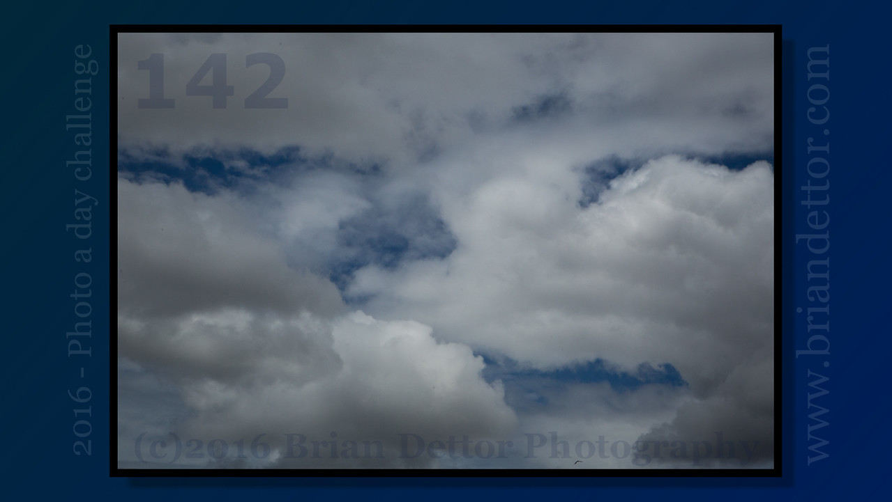 Day #142 - Storm Clouds