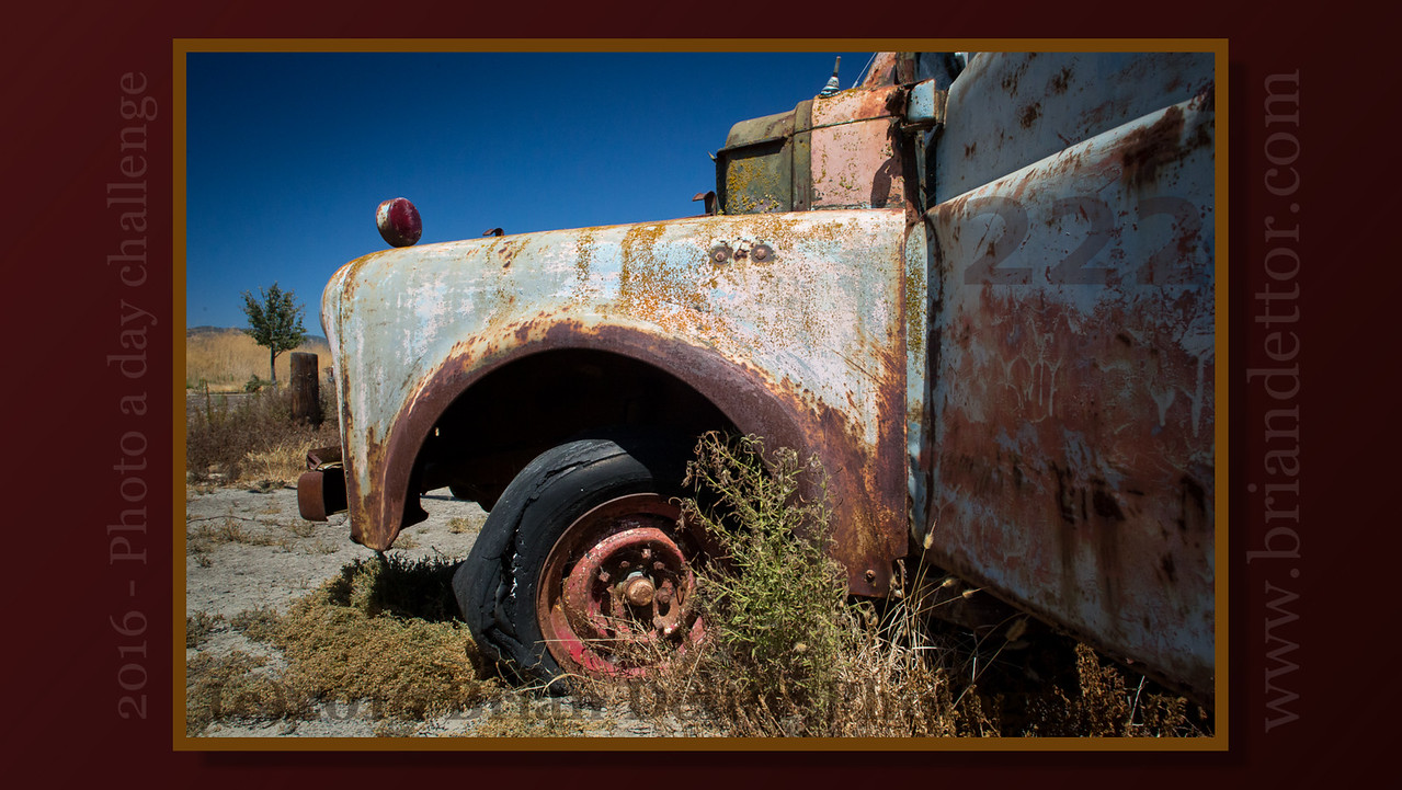 Day #222 - Sonoma Rust
