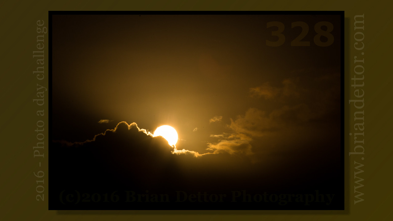 Day #328 - Sunrise