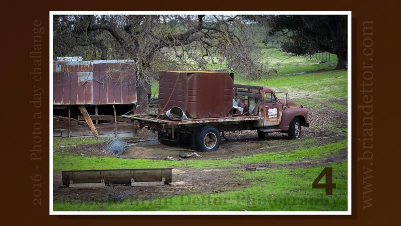 Day #4 - San Antoinio Rd. Farm Truck