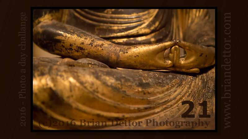 Day #21 - Seated Buddha Amitabha (Japanese: Amida)